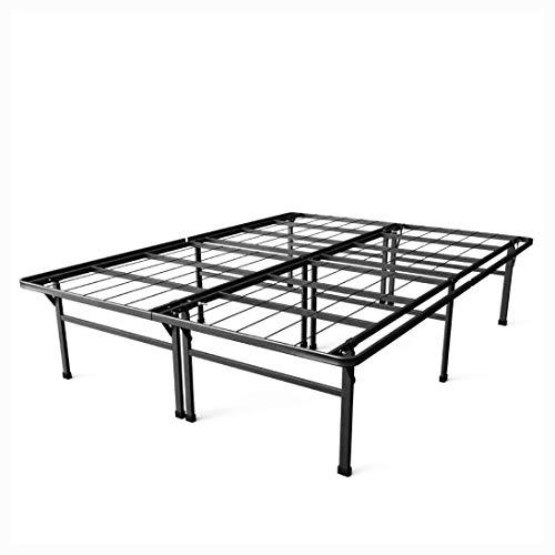 Platform Bed, King Size 18-inch High Rise Metal Platform Bed Frame