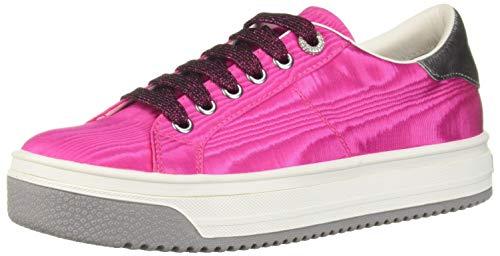 Marc Jacobs Women's Empire Multi Color Sole Sneaker, Magenta, 35 M EU (5 US)