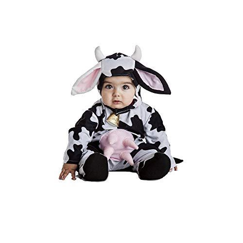 Disfraz Vaca Bebe Talla 0-6 Meses