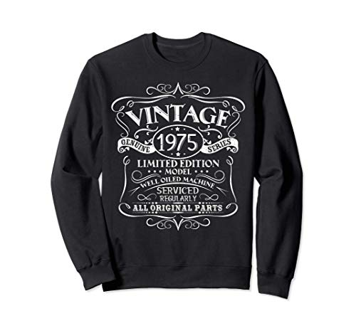 Vintage 1975 46.o regalo de cumpleaños hombres mujeres Sudadera