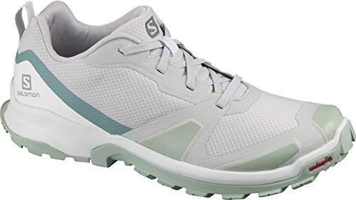 Salomon XA COLLIDER W, Zapatillas de Trail Running Mujer, Gris (Lunar Rock/Aqua Gray/White), 44 EU