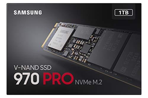 Samsung 970 Pro - Disco Duro Sólido de 1 TB, Negro: Samsung ...
