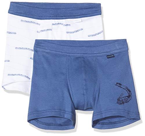 Schiesser Jungen Multipack-2pack Shorts Boxershorts, Mehrfarbig (Sortiert 1 901), 164(Herstellergröße: 164) (2er Pack)
