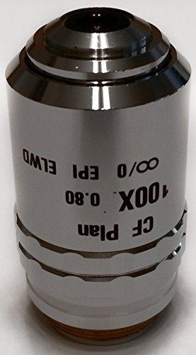 Nikon | CF Plan 100x/0.80 ∞/0 EPI ELWD (Brightfield) Microscope Objective Lens (MUL03900)