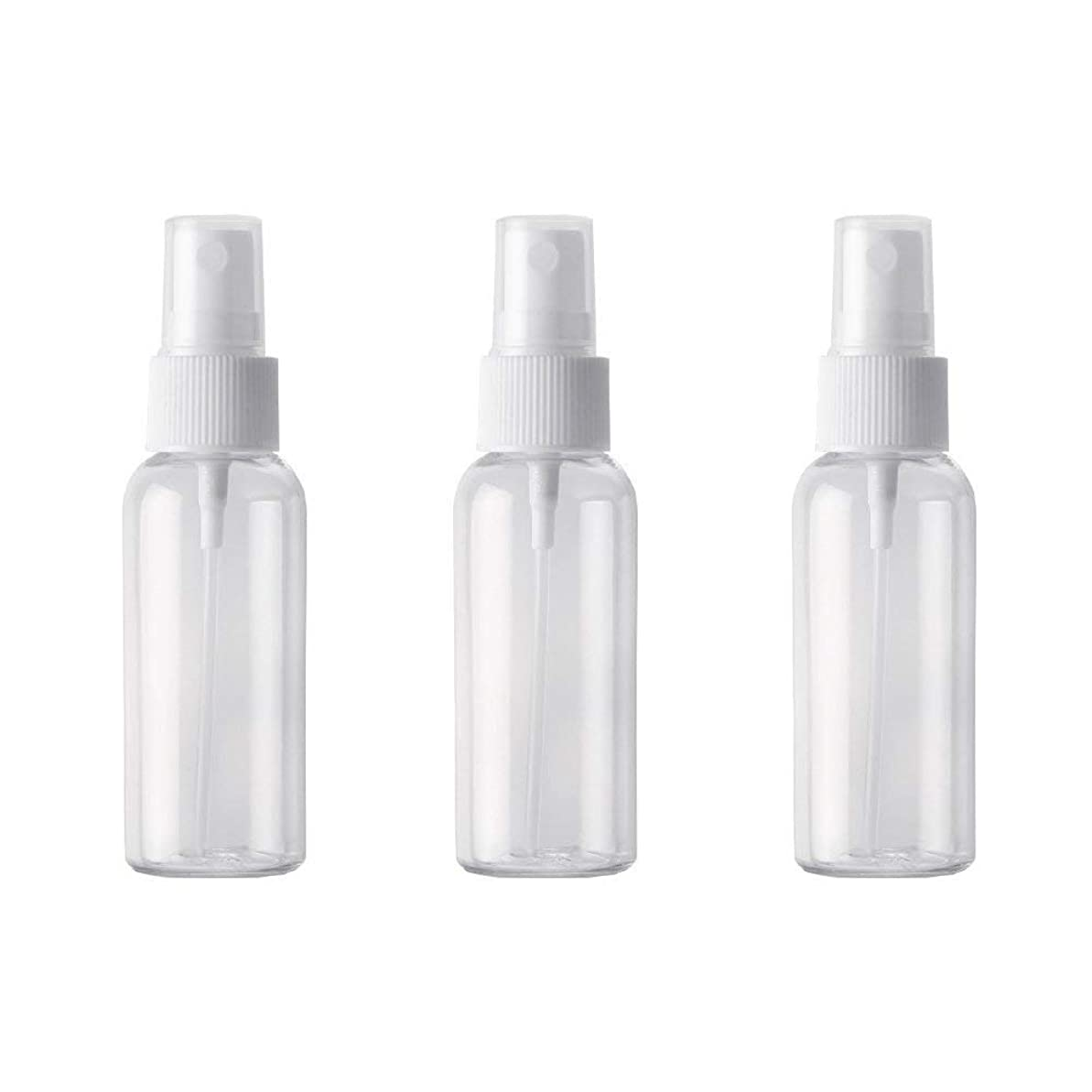 ウィザードコークスやさしく小分けボトル スプレーボトル 50ml おしゃれ 空ボトル 3本セット 環境保護の材料 PET素材 化粧水 詰替用ボトル 旅行用品