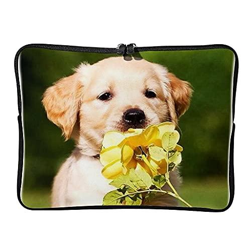Bolsa para portátil Golden Retriever de 5 tamaños, resistente a los arañazos, ideal para los amantes de las mascotas