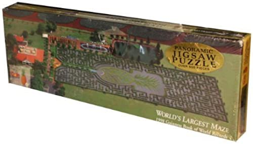 Dole Plantation Panoramic Jigsaw Puzzle - The Worlds Largest Maze - 1998 Guiness Book of World Records 500 Piece Puzzle by Dole