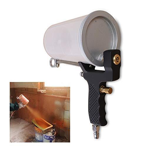 WUPYI Professional Hand-held Gel Coat Sprayer Gel Coat Dump Spray Gun Air Spray Gun with 4 mm Nozzle,1000ML Cup,Painting Tools for DIY Home,Fiberglass Coatings