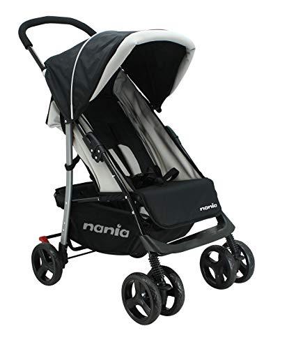 Nania - TEXAS Kinderwagen leicht und einfach zu bedienen (noir)