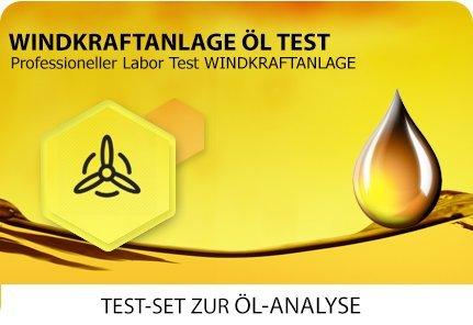 Öl Test für Windkraft / Yaw- (Azimut-) und Pitchgetriebe