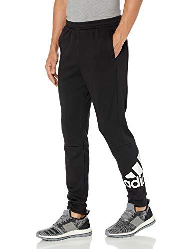 adidas Pantalones de chándal Favoritos para Hombre, Hombre, Pantalones, IXW30, Negro, L