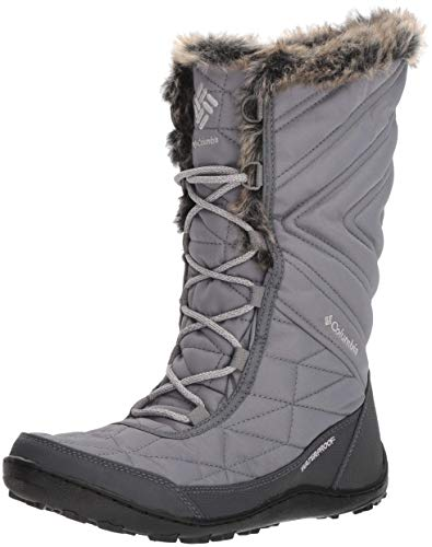 Columbia Women's Minx III Mid Calf Boot, ti Steel, Grey ice, 8.5 Regular US