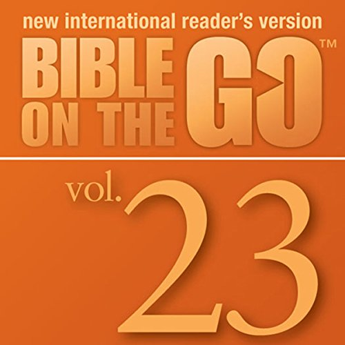 Bible on the Go, Vol. 23: The Story of Nehemiah; Ezra Reads the Law (Nehemiah 1-2, 6-10) audiobook cover art