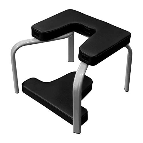 Best Review Of DLJAC Yoga Inversion Chair for Workout Fitness and Gym Yoga Headstand Bench Stand Yog...