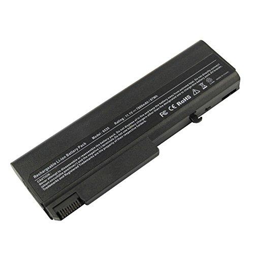 ARyee 7800mAh 11.1V 6535B Batería Batería portátil para HP Compaq 6500B 6530B 6700B 6730B 6735B, HP EliteBook 6930P 8440P 8440W, HP ProBook 6440B 6445B 6450B 6540B 6545B 6550B 6555B