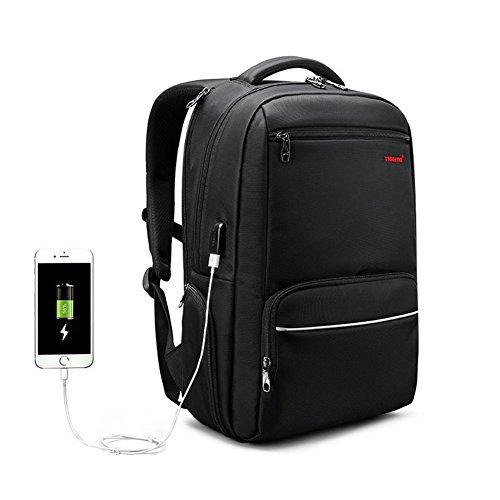 beibao shop Backpack - Ordinateur Portable Sac à Dos USB Port de Charge étanche Business Computer Sac à Dos Grand Compartiment 15,6 Pouces Sac pour Ordinateur Portable