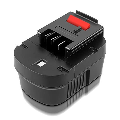 ADVNOVO 12V 3.5Ah Ni-MH A12 Batería de Reemplazo para Black + Decker A12 A1712 A12E A12-XJ HPB12 HP122 FS120B FS120BX FSB12