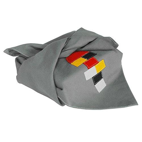 Pigeon Fleet Juego nostálgico Hecho a Mano de Dibujos Animados Furoshiki Wrapping Cloth para Wrap Bento Lunch Gift, Gris
