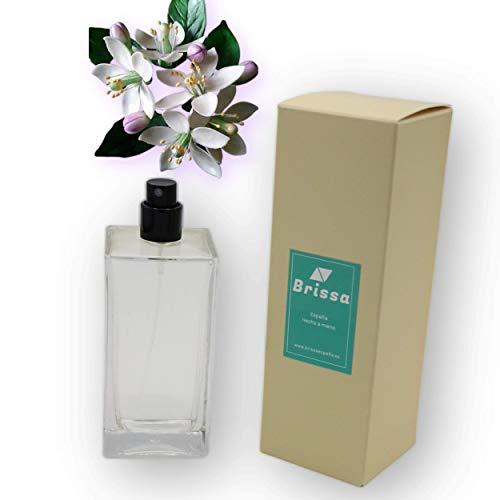 Brissa España. Difusor ambientador casa en Spray Aromas Ginger&Orange Blossom. Home fragance Luxury con Perfume Duradero. Hecho en España.