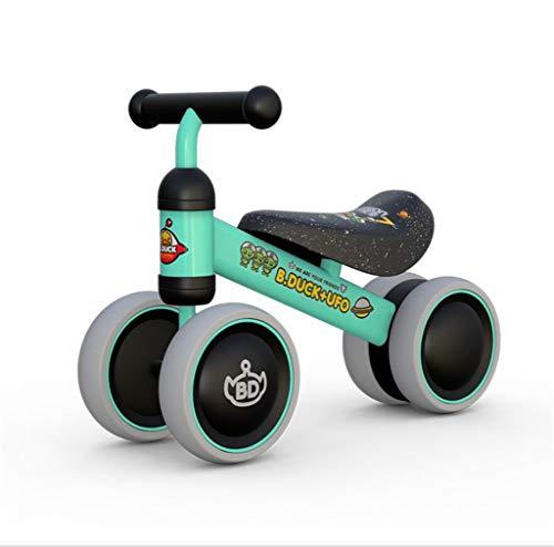 Babybalance Fahrrad, Mini-Fahrrad-Wanderer Spielzeug Kinderfahrrad ohne Pedal Outdoor Indoor Fahrspielzeug 1-3 Jahre alt Junge und Mädchen,Gray