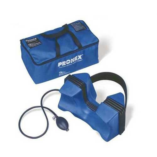 """Pronex Pneumatic Cervical Traction Device, Wide (18"""" and up)"""