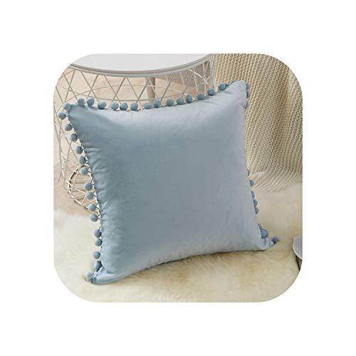 My cat - Fundas de almohada de terciopelo suave para sofá, cama, funda de cojín de 30 cm x 50 cm