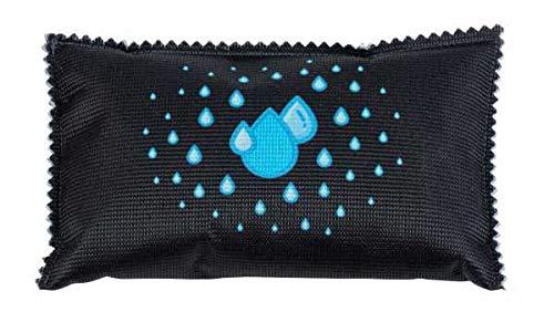 WENKO Auto-Entfeuchter-Kissen mit Sättigungsanzeige, hilft bei beschlagenen Autoscheiben, 2er Set