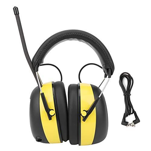 GAESHOW Elektronische Geräuschreduzierung Ohrenschützer Gehörschutz Kopfhörer Digital AM/FM Radio Stereo Gehörschutz Gehörschutz