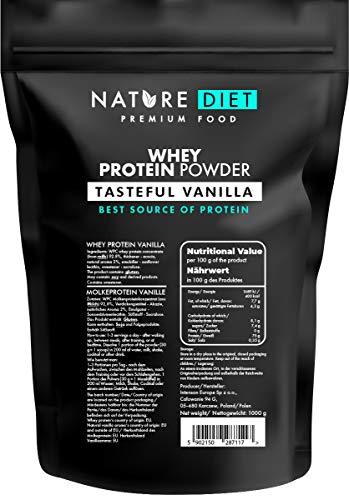 Nature Diet   Proteína de suero en polvo, vainilla
