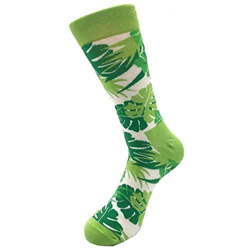 ZZBO Unisex Mann Frau Sneaker Socken Crew Socken Lustige Bunt Socken Lange Lässig Bequeme Füßlinge Wärmende Kuschel Socken Mittlere Strümpfe Bunt Blume Muster Trendige
