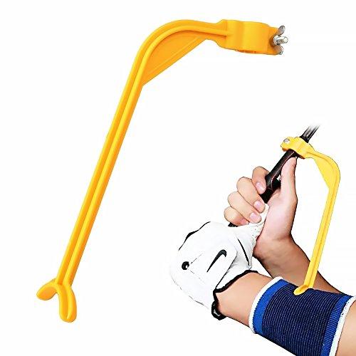 Grifri - Guías de entrenamiento para golf (brazo y muñeca), color naranja