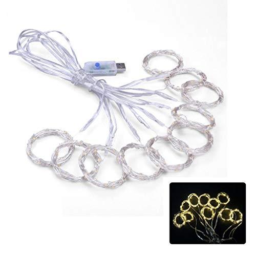 1 Stück USB Powered Decorative Fairy String Lights 300 LEDs mit Fernbedienung 8 Modi für Garden Patio Yard Grass Hochzeit Weihnachtsbaum