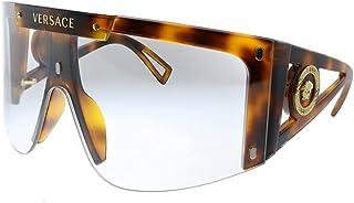 Versace MEDUSA ICON VE 4393 Havana/Clear Lens Brown Shaded Lens 46/14/120 women Sunglasses