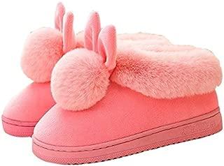 CARRY TRIP Rabbit Fur Slippers Women Slippers Designers Short Plush Rubber Home slipperss Flat