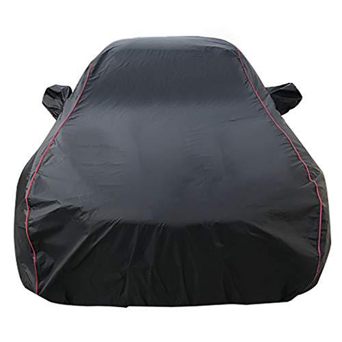 OOFAYZYJ Autoabdeckung Staubdicht/Wasserdicht/Kratzfest/UV-Schutz/Winddicht Baumwollfutter Vollständige Autoabdeckung Geeignet für Peugeot Mini-car,107