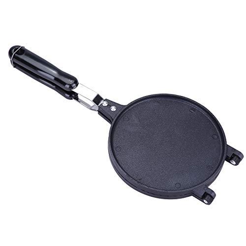 Huairdum Waffle Cone Baker, Lados sin ensuciar Diseño Innovador Máquina para Hacer Rollos de Huevo, Antiadherente Almuerzo fácil de Limpiar Cualquier Desayuno Cualquier Masa húmeda para Waffles