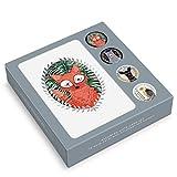 Note Card & Sticker Set by Studio Oh! - Marissa Redondo Woodland Creatures - Set of 12 - 3.5' x...