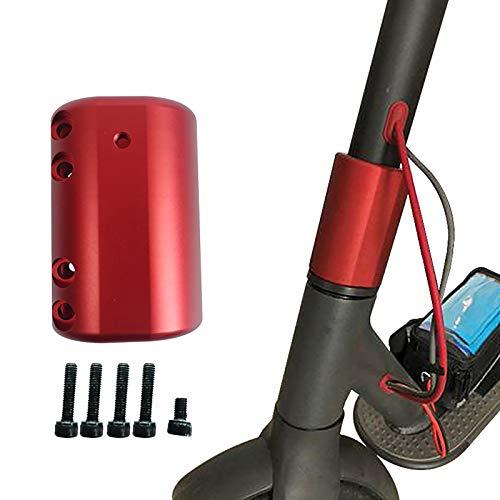 Konesky - Soporte plegable para patinete Xiaomi M365 / m365 Pro, soporte de alta densidad de aleación de acero para scooter Mijia 365, color rojo