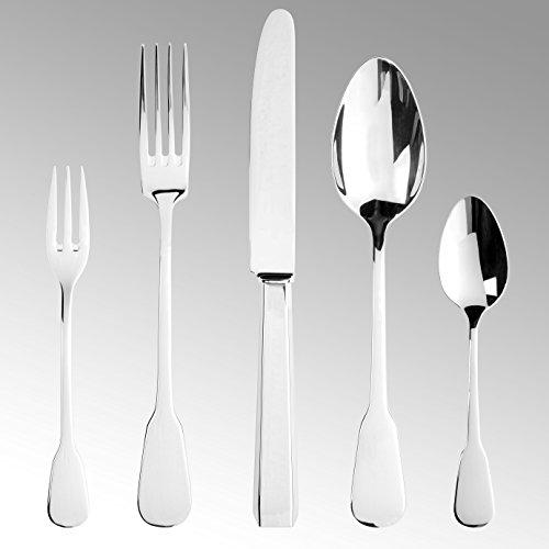 Lambert 44537 Florence Besteck Edelstahl 1 Pkt = 6 x 5 30 st, Silber