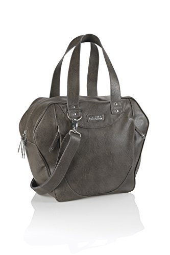 Babymoov A043542 Wickeltasche City Bag, grau/braun