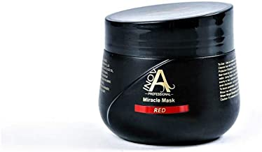 Inova Professional Color Revive & Enhance - The Miracle Mask - Color Deposit Red - Deep Conditioning Mask, 10.2 Fluid Ounce