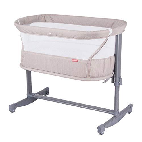 Best Bargain Balance Bouncer Cradle Big Auto-Swing Baby Cradle Bed Safe Crib Infant Rocker Cot Mat P...