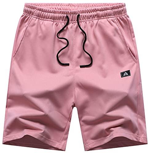 BYLESIN Herren Sport-Shorts mit Taschen...