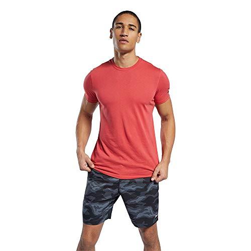 Reebok Wor We Comm SS tee Camiseta, Hombre, rebred, XL