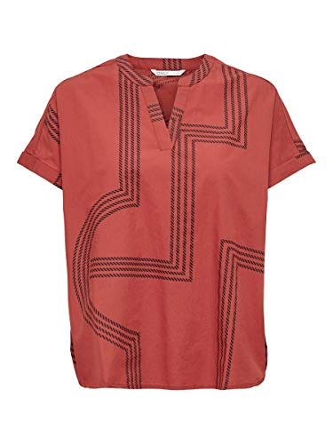 ONLY Female Bluse Lockeres 38Red Ochre