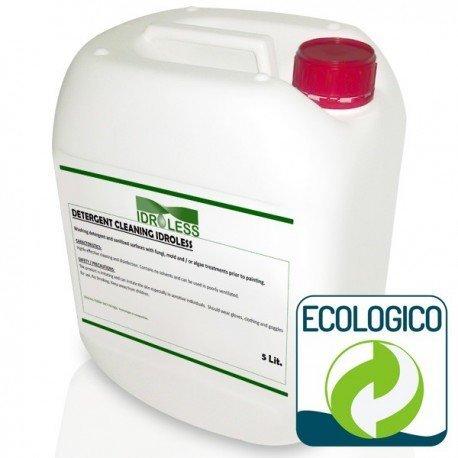 Detersivo detergente anti muffa senza solventi idroless–5ltr