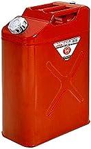 矢澤産業 縦型ガソリン携帯缶 20L レッド 【品番:CRT20】