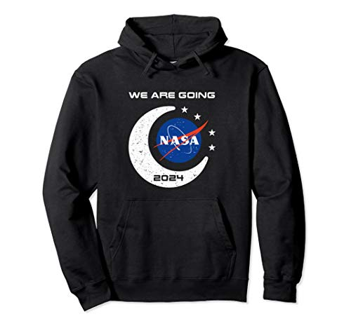 NASA Approved Artemis Orion We Are Going Moon To Mars 2024 Pullover Hoodie