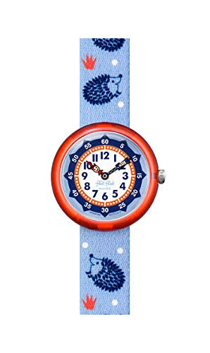 Flik Flak Unisex Analog Schweizer Quarz Uhr mit Textil Armband FBNP148