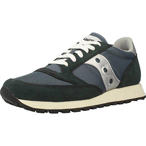 Saucony Jazz Original Vintage, Sneakers Uomo, Blue Navy Silver 4, 40 EU